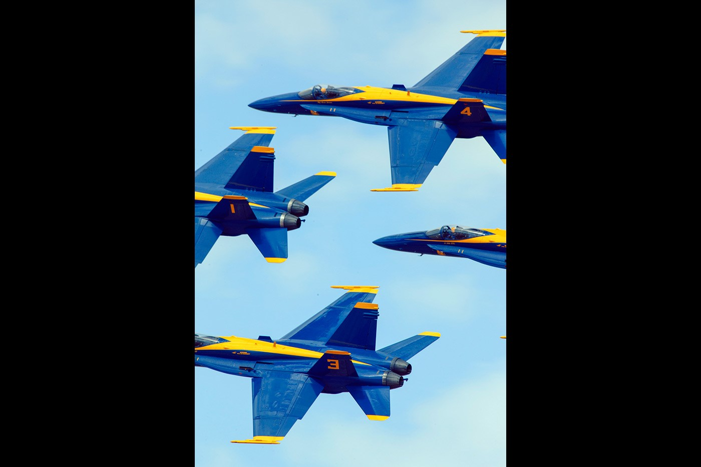 <p>The US Blue Angels display team in action at El Centro, California</p>
