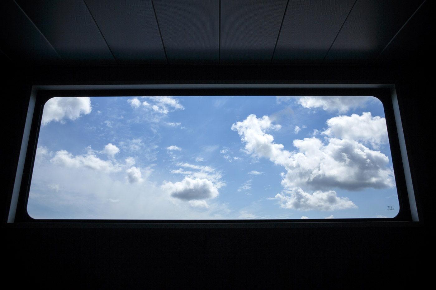 <p>Watching the clouds go by.</p>