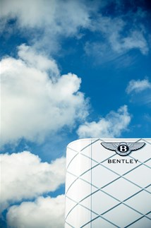 <p>The Bentley stand at Goodwood Festival of Speed.</p>