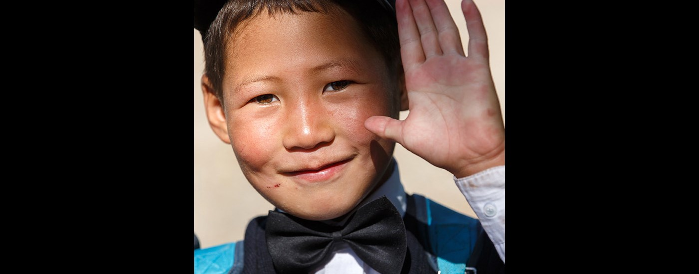 Boy from Kyrgyzstan