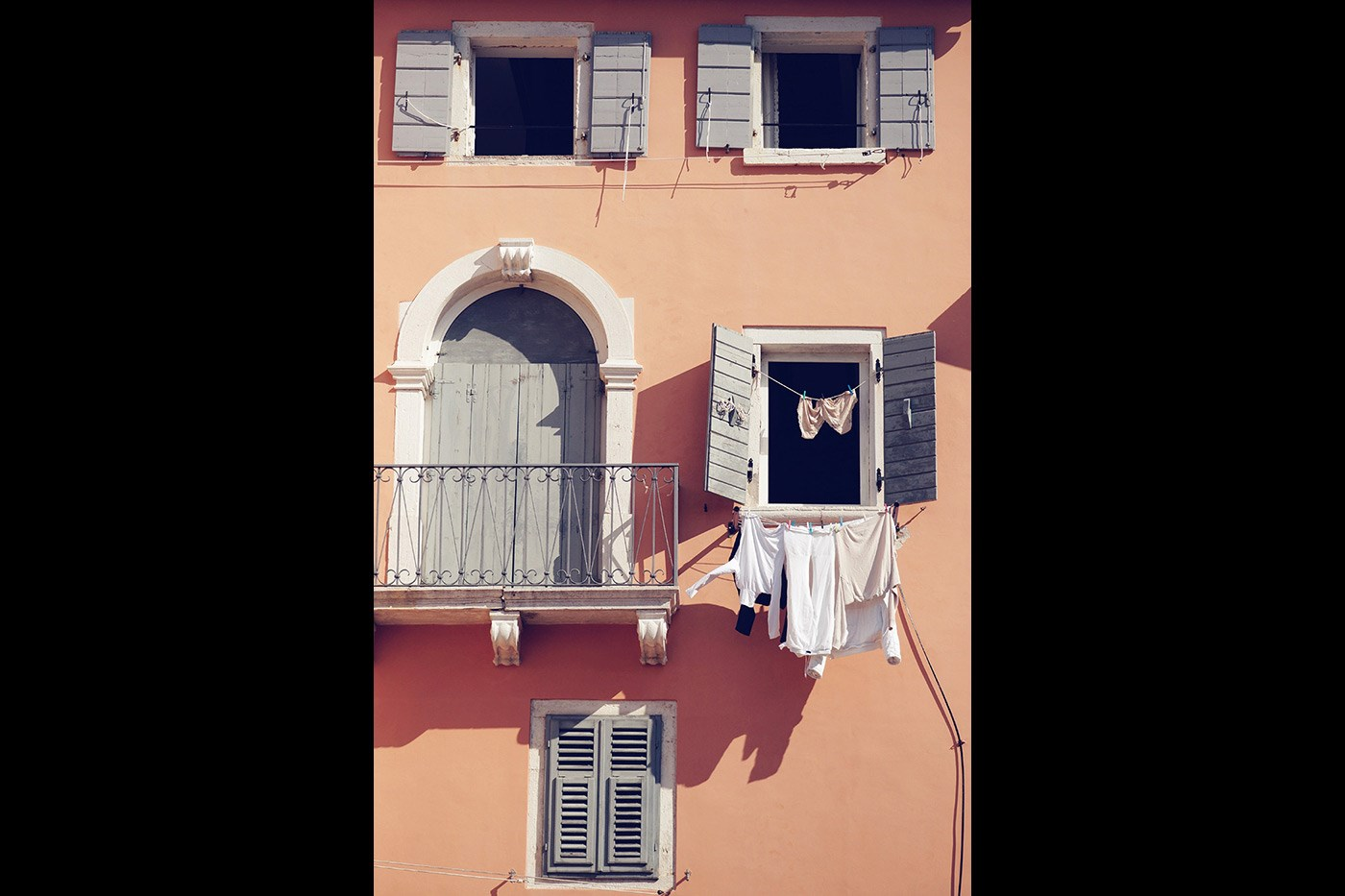 <p>Hung out to dry, Croatia.</p>