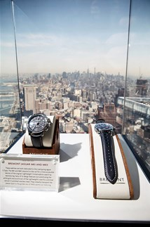 <p>Bremont for Jaguar at their collection launch at 1 WTC, NY.</p>