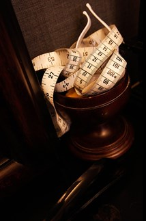 <p>Detail in Dunhill's West End London store.</p>