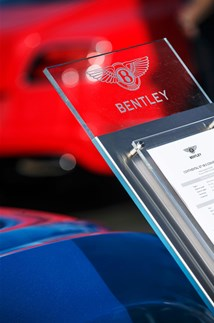 <p>On the Bentley Motors stand at Goodwood Festival of Speed.</p>