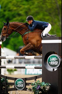<p>Showjumping at the Royal Windsor Horse Show.</p>