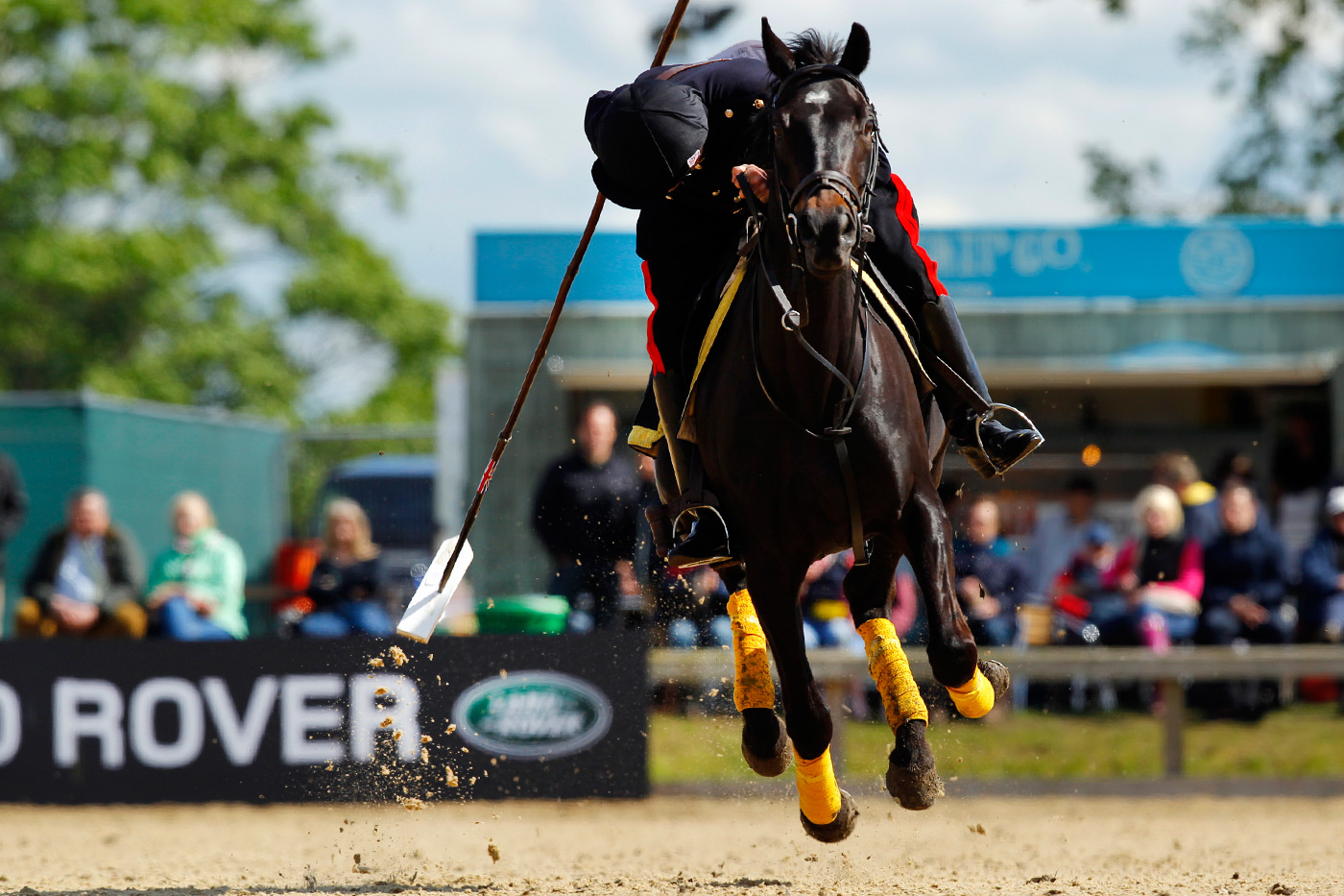 <p>Competitions at the Royal Windsor Horse Show supported by Land Rover</p>