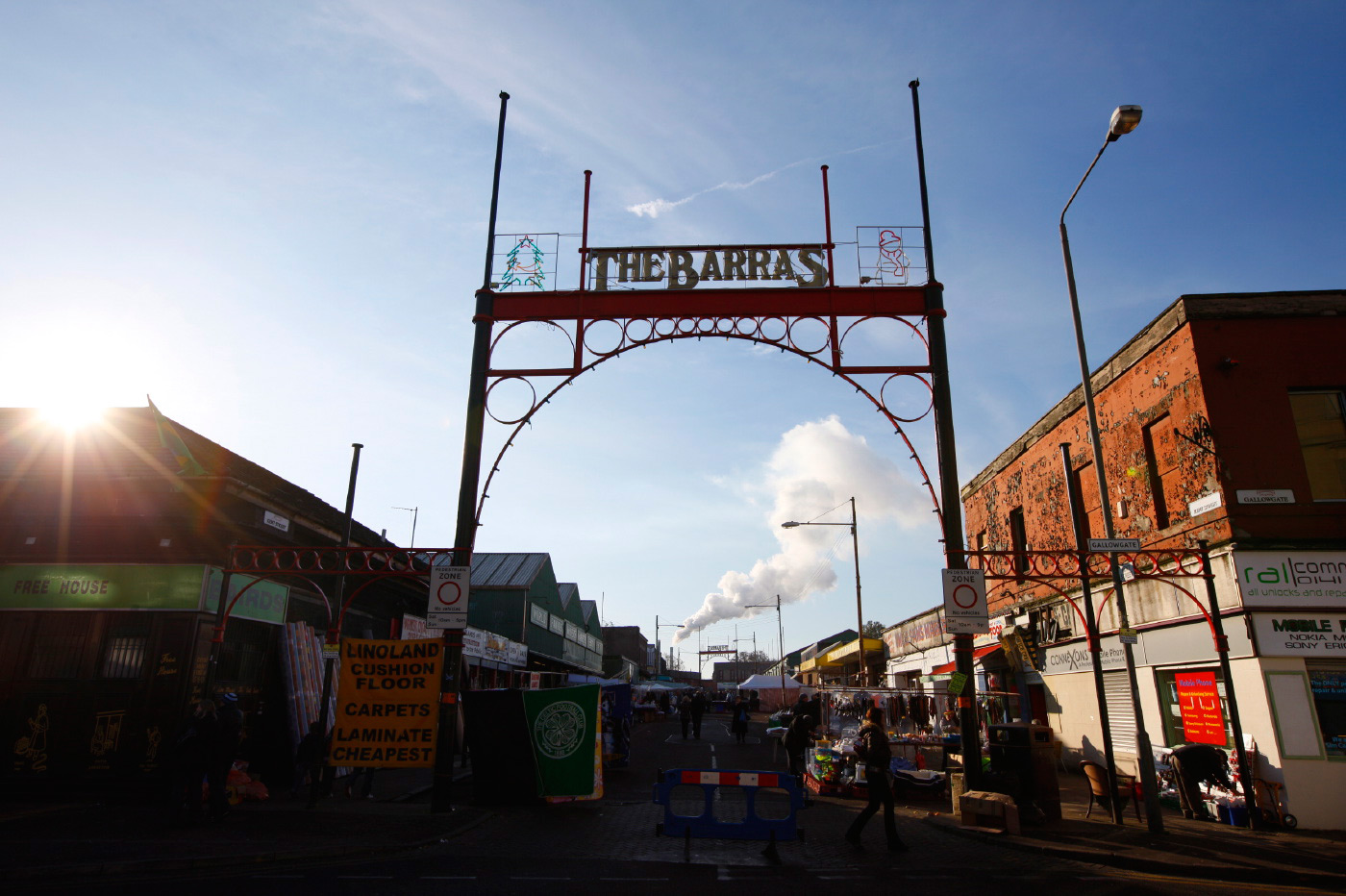 <p>Early morning at The Barras in Glasgow.  Taken for Visit Glasgow.</p>